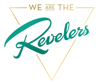 we are the Revelers Podcast Logo